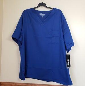 GREY'S ANATOMY MEN'S SCRUB BY BARCO TWO NAVY BLUE